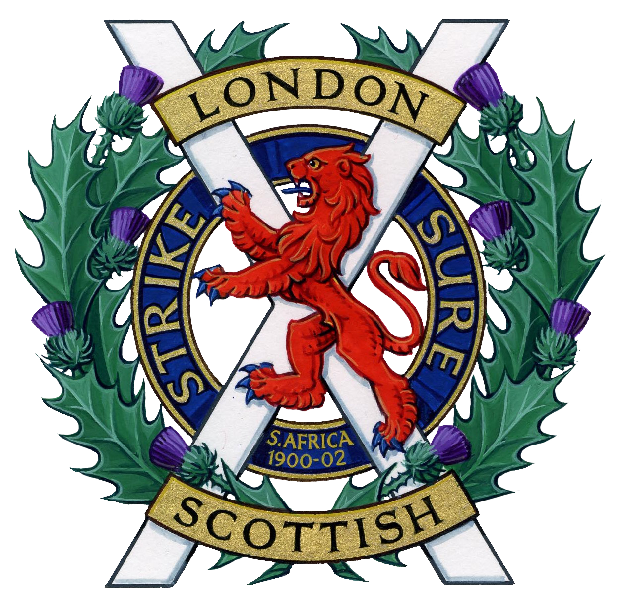 The London Scottish Regiment (Estb. 1859)